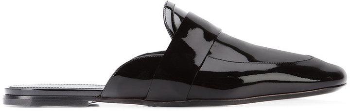 Jil SanderJil Sander round-toe mules
