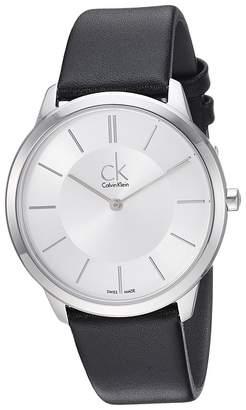 Calvin Klein Minimal Watch - K3M211C6 Watches