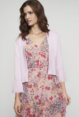 Long Tall Sally Fluted Sleeve Cover Up