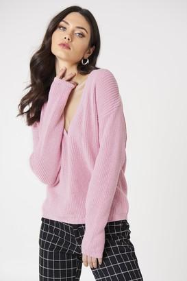 Josefin Ekström For Na Kd Deep V-neck Sweater