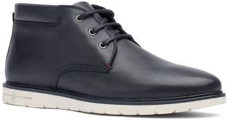 Tommy Hilfiger Leather Sneaker Boot