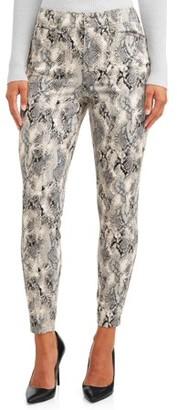 Sofia Jeans By Sofia Vergara Sofia Jeans Rosa Curvy High Waist Ankle Jean Women's (Neutral Python)