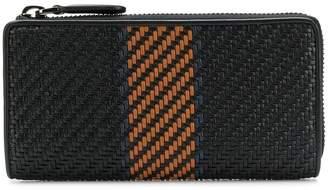 Ermenegildo Zegna Pelle Tessuta woven wallet