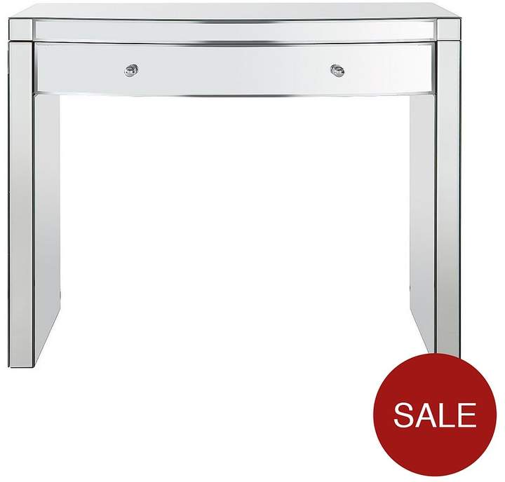 Curved Mirror Dressing Table