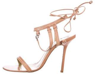 Givenchy Leather Ankle Strap Sandals