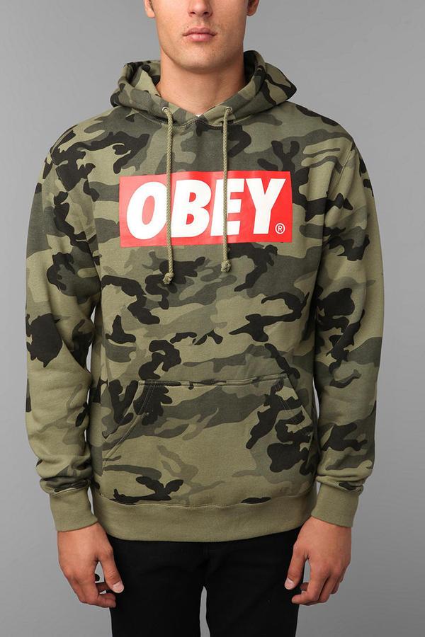 Obey Camo Sweatshirt