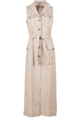 Giuliva Heritage Collection Sleeveless Safari Dress