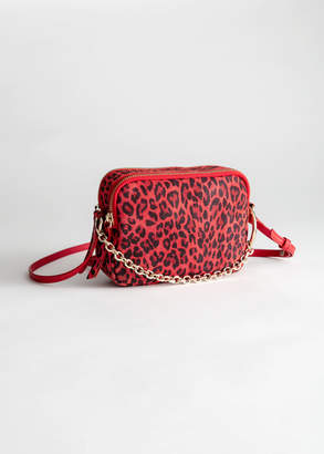 And other stories O-Ring Chain Crossbody Bag