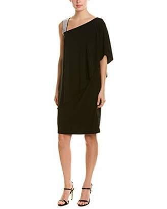 R & M Richards R&M Richards Women's The one Shoulder Short Solid Cocktail Dress