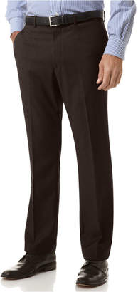 Perry Ellis Portfolio Slim Fit No-Iron Flat Front Dress Pants
