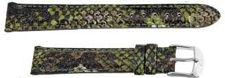 Michele Camouflage Fashion Patent Leather 16mm Watch Band Strap