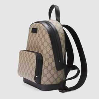 Gucci GG Supreme small backpack