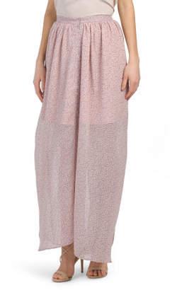 1e576039af67 Sheer Maxi Skirt - ShopStyle