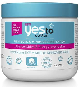 Yes To yes to Cotton Eye Makeup Remover Pads (45 Pack)