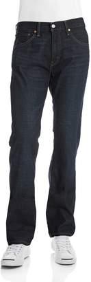 Levi's 527 Slim Boot Cut Jeans Indigo Black