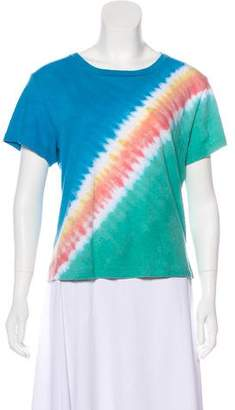 RE/DONE Tie-Dye Short Sleeve Top