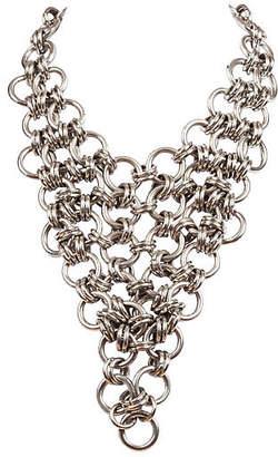 One Kings Lane Vintage Chain Bib Bandana Necklace