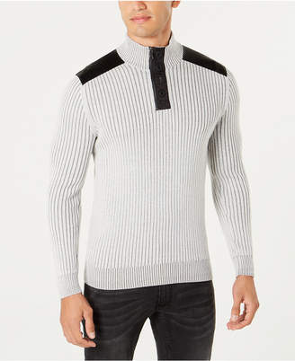 INC International Concepts I.n.c. Men's Jasper Quarter-Zip Sweater