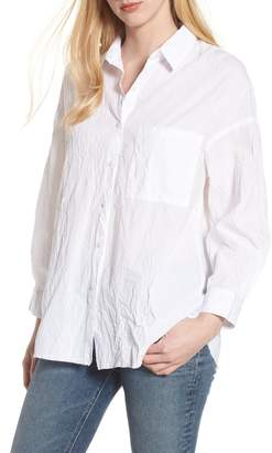Stateside Oversize Button Front Shirt