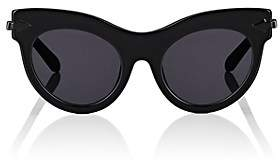Karen Walker Women's Miss Lark Sunglasses - Black