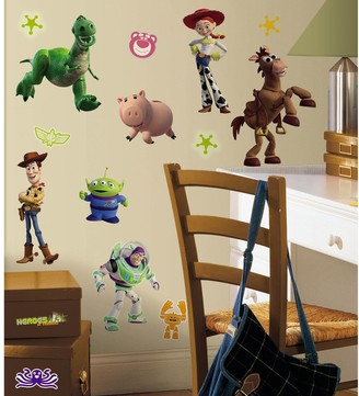 story. Roommates Disney / Pixar Toy 3 Wall Stickers