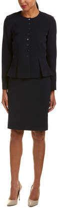 Tahari by Arthur S. Levine Tahari Asl 2Pc Jacket & Skirt Set