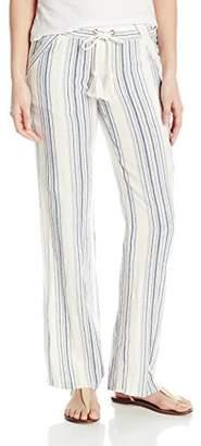 Jolt Women's Striped Linen Palazzo