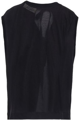 Marni Open-back Slub Cotton-jersey Tank