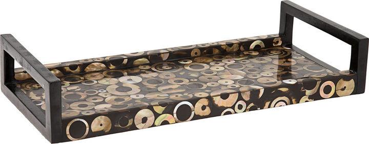 R & Y Augousti Brownlip Circles Tray