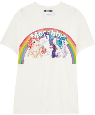 Moschino - My Little Pony Cotton-jersey T-shirt - White