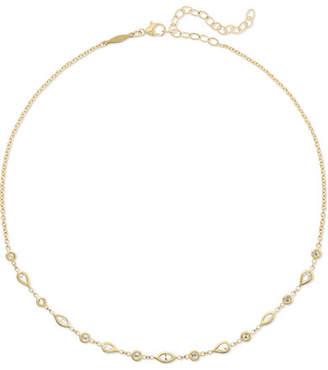 Jacquie Aiche 14-karat Gold Diamond Choker - one size