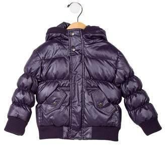 Appaman Fine Tailoring Girls' Hooded Puffer Coat