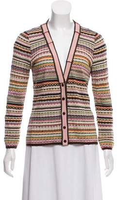 Missoni Knit V-neck Cardigan
