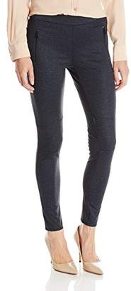 Calvin Klein Jeans Women's Denim Ponti Legging $36.45 thestylecure.com