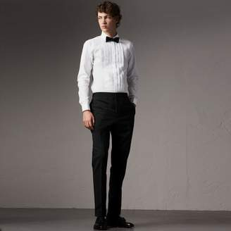 Burberry Slim Fit Cotton Poplin Dress Shirt