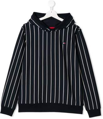 Tommy Hilfiger Junior striped hoodie