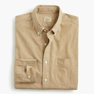 J.Crew Stretch one-pocket chambray shirt