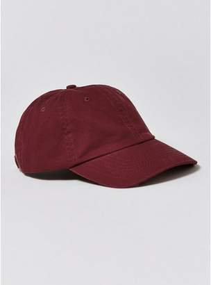 Topman Mens Red Burgundy 'Outcast' Dad Cap