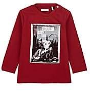 Ikks Infants' Rock-Tour-Print Cotton T-Shirt - Red