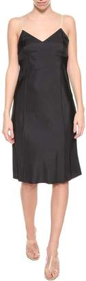 Helmut Lang Black Petticoat Dress From