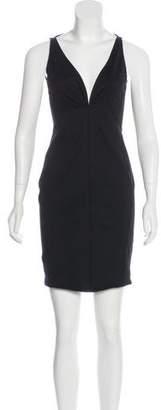 DSQUARED2 V-Neck Bodycon Dress