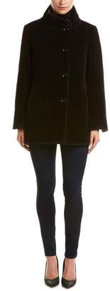 Cinzia Rocca Icons Reversible Alpaca & Wool-Blend Coat