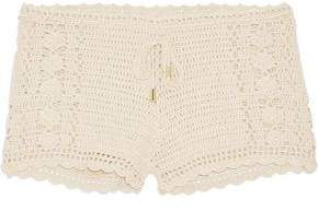 Melissa Odabash Alicia Crocheted Cotton Shorts