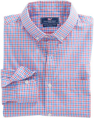 Vineyard Vines Point Gammon Gingham Slim Murray Shirt