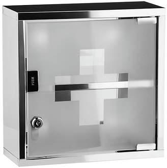 Premier Housewares Stainless Steel Medicine Cabinet