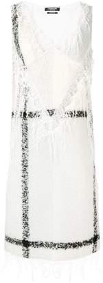 Calvin Klein lace trim dress