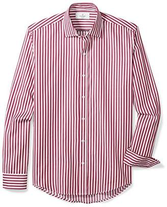 Buttoned Down Men's Slim Fit Supima Cotton Spread-Collar Sport Shirt