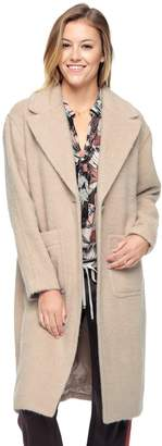 Juicy Couture Brushed Wool Coat