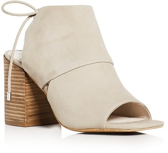 Kenneth Cole Katarina Ankle Tie Block Heel Sandals $160 thestylecure.com