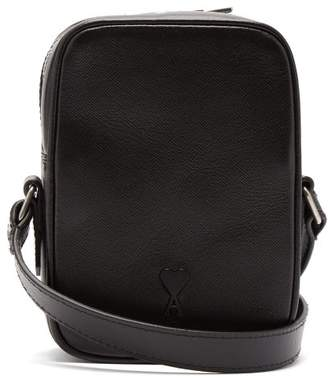 Ami - Leather Camera Bag - Mens - Black